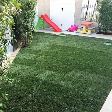 giardino privato dopo